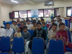 Anak-anak yatim binaan Rumah Zakat Indonesia